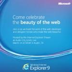 ¿Internet Explorer 9 disponible para el 14 de marzo?