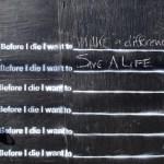 Antes de morir, quiero…