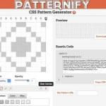 Patternify, generador de patterns online