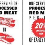 Comer carne roja – Posibles males [Infografía]
