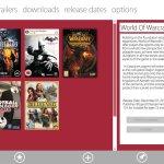 """Concepto de un """"Game Center"""" en Windows 8"""