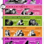 Todas las mujeres de James Bond desde los 80's