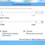 Ajustar el tamaño de los bordes de las ventanas de Windows 8 con Tiny Windows Borders
