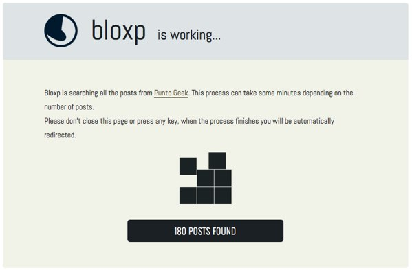 Bloxp is working...
