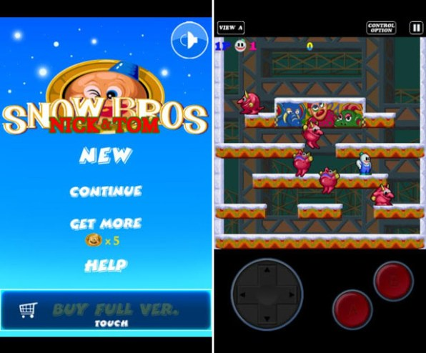 snow bros android