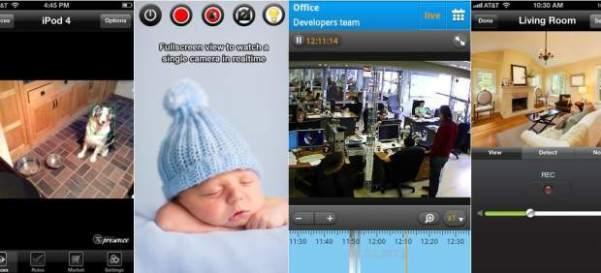 Aplicaciones de videovigilancia para el hogar