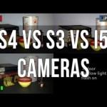 Comparativa de las cámaras del Samsung S3, S4 e iPhone 5