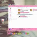 Temas en color rosa para Windows 7