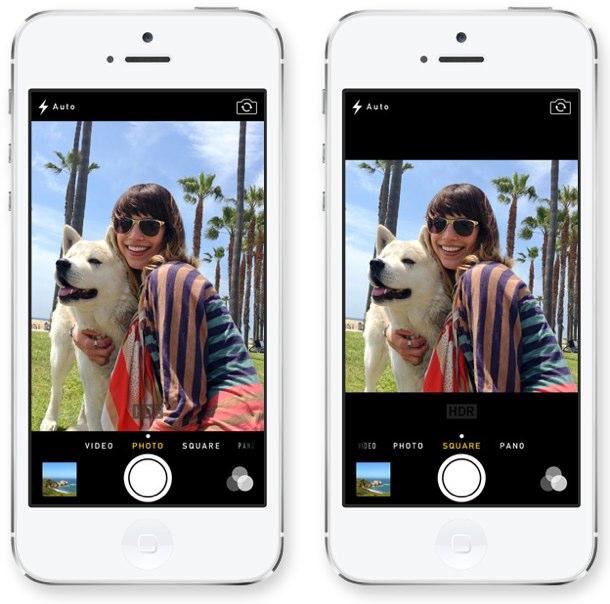 camara 2 iOS 7