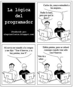 Humor para programadores: La lógica del programador
