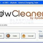 Remover barras de herramientas y otros malwares con AdwCleaner
