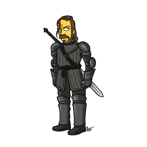 game of thrones simpsons 1
