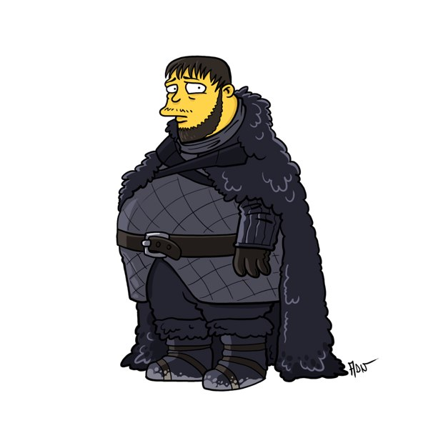 game of thrones simpsons 12