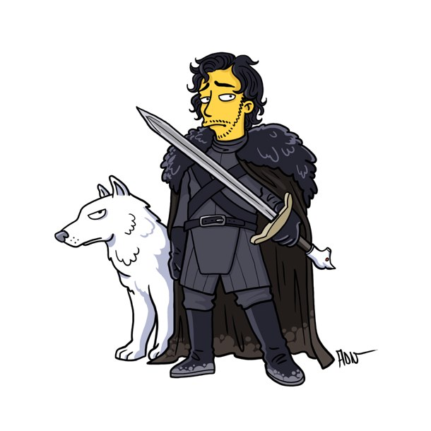 game of thrones simpsons 5