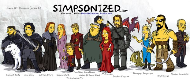 game of thrones simpzonizado