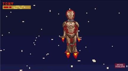 iron man 3 en 16 bits