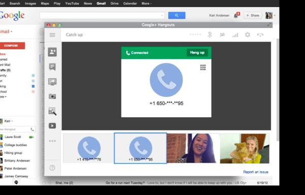 Vuelven las llamadas a Gmail