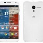 Imagen oficial y características del Motorola Moto X