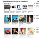 Widget de artículos relacionados con imágenes para WordPress con nrelate
