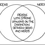La diferencia entre un geek y un nerd