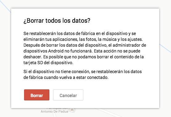 Admin. de Dispositivo Android