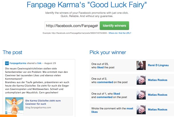 Fanpage Karma Good Luck Fairy