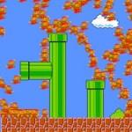 974 personas jugando un nivel de Super Mario simultáneamente