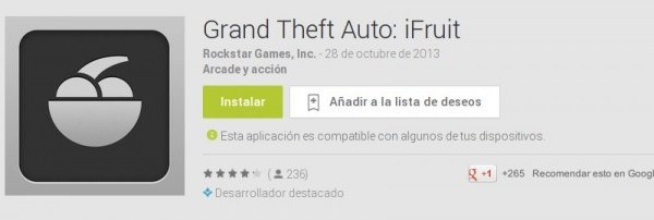 iFruit para Android