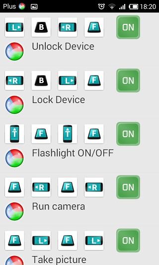 Controlar Android por movimientos