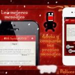 Aplicaciones para felicitar la Navidad desde el smartphone