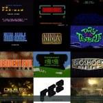 Repaso por las presentaciones de los videojuegos desde 1981 hasta el 2013