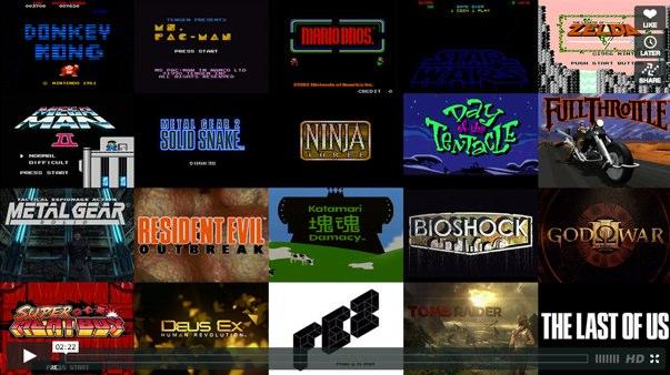 presentaciones de los videojuegos