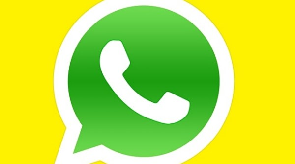 Imagen amarilla de perfil en WhatsApp