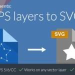 Script para exportar vectores de Photoshop a SVG con un click