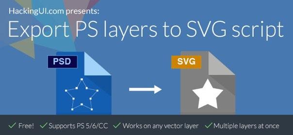 plugin exportar vectores PS a SVG