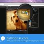 Ballloon te permite guardar archivos e imágenes directamente a DropBox y Google Drive sin descargar