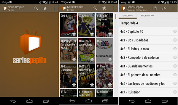 series pepito android