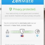 ZenMate: Red VPN para navegar anónimamente en Chrome