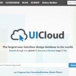 UICloud: Más de 1200 kits de interfaces gráficas gratis