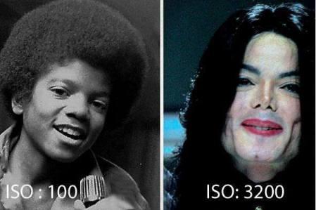ISO 100 vs. ISO 3200 [Humor]