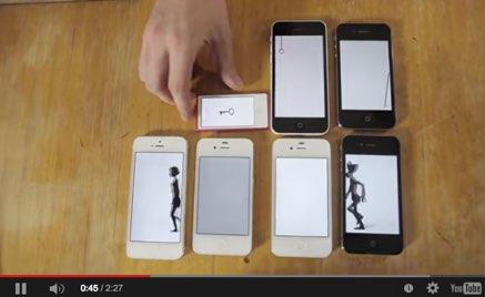 animacion iphones