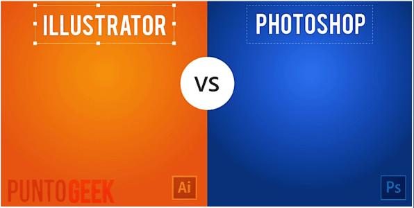 diferencia entre photoshop e illustrator