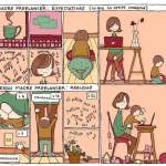 Madres freelancers: Lo que la gente imagina vs. la realidad [Humor]