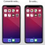 Cómo eliminar el 'notch' del iPhone X