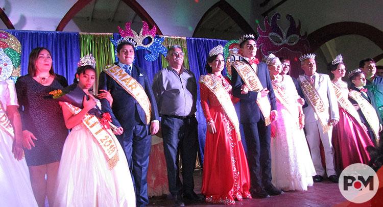 Coronan a los soberanos del Carnaval de Tekax