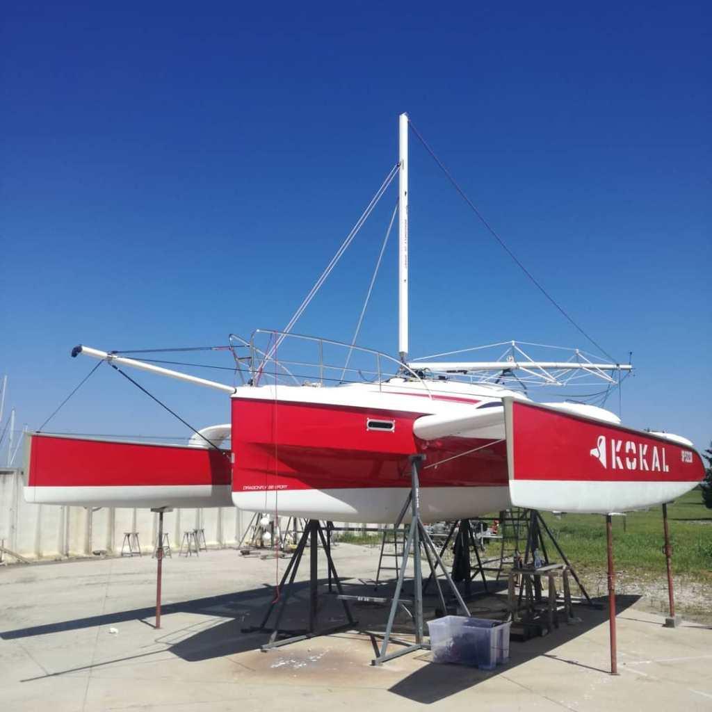 Sartie Dyneema sk99 Regatta Yacht Ropes Trimarano