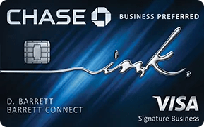 Chase Ink Business Preferred 80.000 puntos de bienvenida