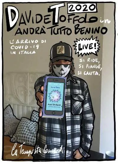 Ancona, SCONCERTI FESTIVAL:  DAVIDE TOFFOLO con ANDRÀ TUTTO BENINO
