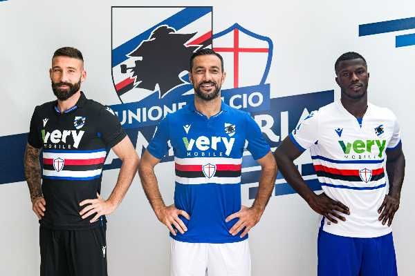 Very Mobile main sponsor della Sampdoria per la stagione 2020/21