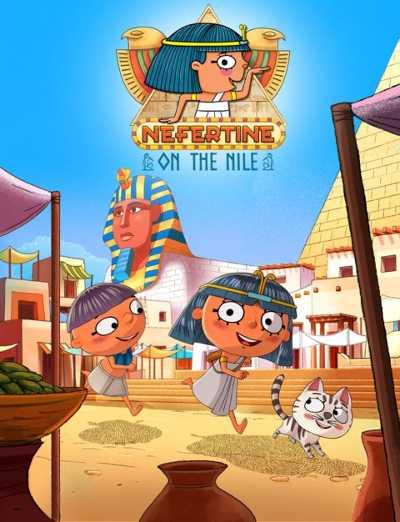 Una nuova serie animata ambientata all'ombra delle Piramidi - NEFERTINA, LA PRIMA SCRIBA-REPORTER DELL'ANTICO EGITTO